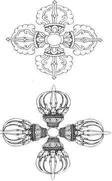 十字金刚杵是指什么?
